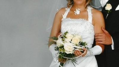 Biała suknia ślubna rozm. 36/38!!
