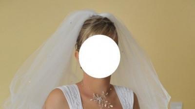 Biała suknia ślubna rozm. 40