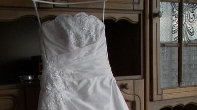 Biała suknia ślubna rozmiar 36 szyta na miarę!