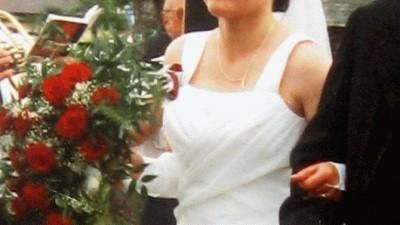 Biała suknia ślubna ROZMIAR 38-40  Dwuczęściowa  BARDZO TANIO!!!