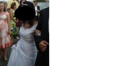 Biała Suknia ślubna + srebny diadem