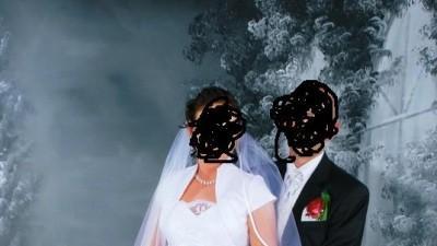 Biala suknia ślubna. Szyta na zamówienie. Rozmiar 38