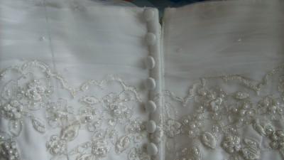 Biała suknia ślubna Tecro