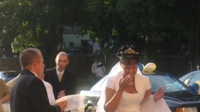biała suknia ślubna w rozm:42/44
