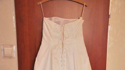 Biała suknia ślubna w rozmiarze 46