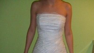 biała suknia Sophia rozm. 36