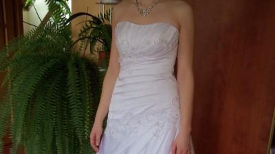 Biała suknia Sposa 36/38+ bolerko i długi welon