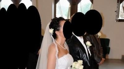 Biała super na ślub latem ;-)