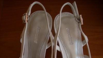 Białe buty ślubne-NOWE 37/38