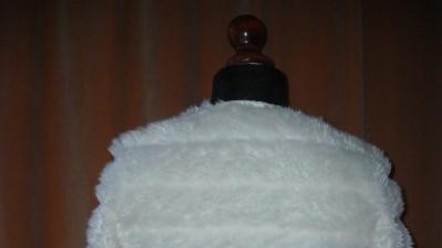 Białe futerko