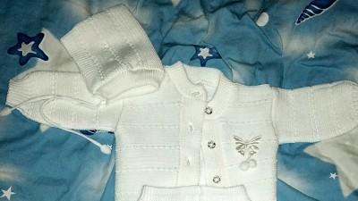 Białe ubranko do chrztu uniwersalne!