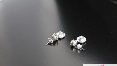 Biżuteria ślubna Bransoletka wraz z kolczykami