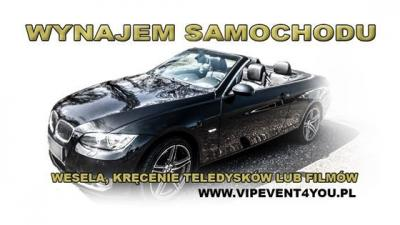 BMW Cabrio do ślubu Katowice