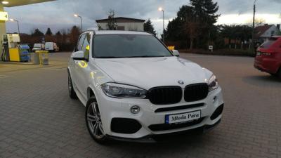 BMW X5 F15 z kierowcą do ślubu Kraków i okolice