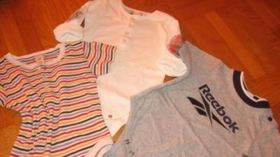 Body GAP +GAP+REEBOK 6-12M z USA
