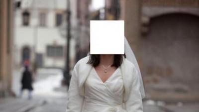 Bolerko zimowe do sukni ślubnej