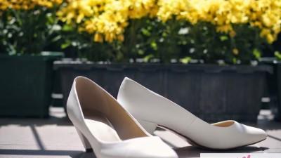 Buty białe r.41