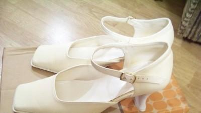Buty do ślubu kolor ecru