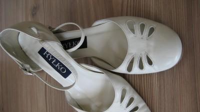 Buty skórzane Ryłko r.37-38