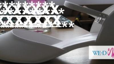 Buty ślubne 39 białe na niskim obcasie bardzo wygodne!