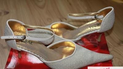 Buty ślubne 40 ecru Ryłko