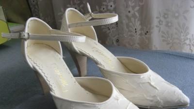 buty ślubne ecru 37