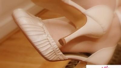 Buty ślubne ecru/vanilia