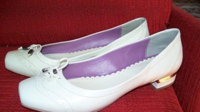 Buty ślubne firmy Via Roma rozmair 37