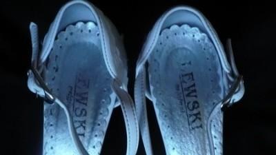 Buty ślubne Lewski r.36 białe