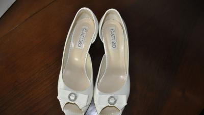 Buty ślubne obcas 5 cm