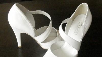 Buty ślubne. RYŁKO. nieużywane!!!