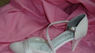 Buty ślubne!Używane. Tanio