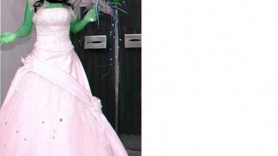 """""""CARMINA"""" Śnieżnobiała suknia ślubna"""