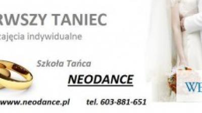 Choreografie dla nowożeńców - PIERWSZY TANIEC