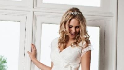 Ciążowa suknia ślubna Tiffany Rose Eden