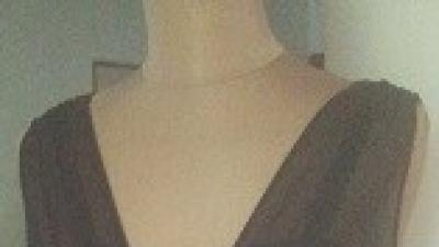 Cudna czekoladowa suknia Mariposa