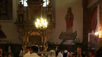 Cudna hiszpańska suknia ślubna