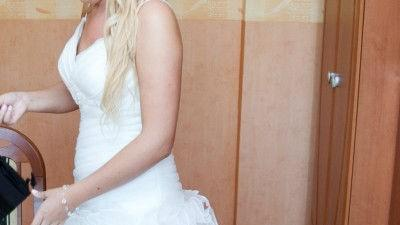 Cudna sukienka ślubna