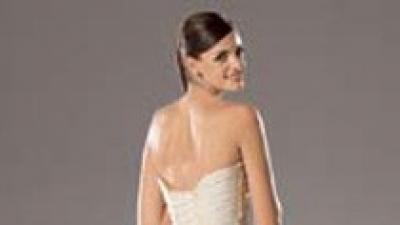 Cudna suknia WHITE ONE 168- kolor: jasne ecru/śmietankowa
