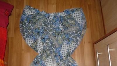 Cudny nietoperz w niebieskim kolorze