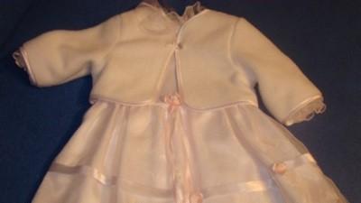 Cudowna sukieneczka do chrztu- TYCHY, rozm.74