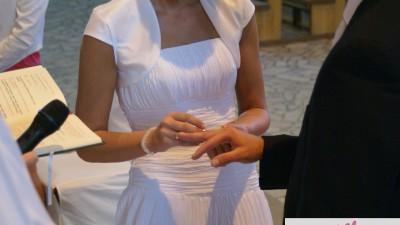 CUDOWNA suknia ślubna AGNES 1756