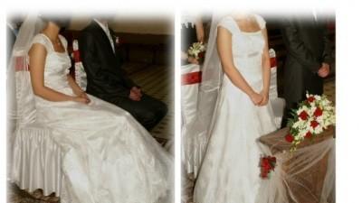 Cudowna Suknia z koronki + GRATISY