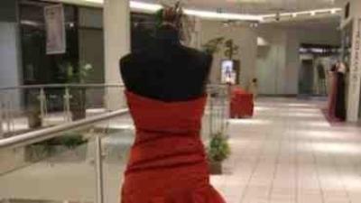 Cymbeline Saline - czerwona suknia ślubna lub wieczorowa