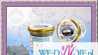 Czarne błoto z Morza Martwego - maseczka