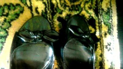 czarne szpileczki bez palców