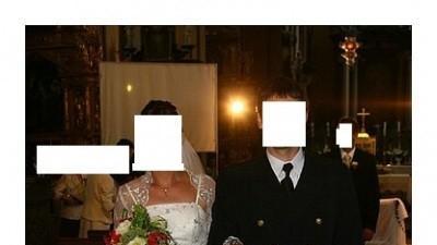 Czarująca suknia ślubna rozmiar 38 - 40