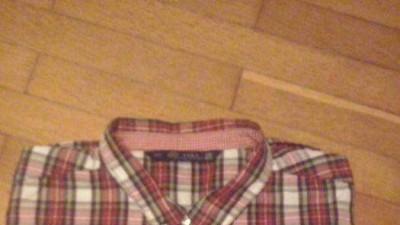 Czarwona koszula w kratę ZARA