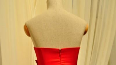 Czerwona Suknia wieczorowa KAMI