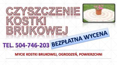 Czyszczenie i mycie kostki brukowej, cena tel. 504-746-203. Wrocław. Mirków, Kiełczów, Chrząstawa, Nadolice, Siechnice, Bielany Wrocławskie, Długołęka, Dobroszyce, Kamieniec Wrocławski,Szczodre, Domaszczyn,  Kiełczówek, Dobrzykowice, Krzyków,